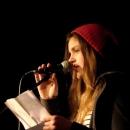 Celine Petrenz beim Poetry Slam Erlangen im November 2013