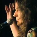 Debbie Scheffoer beim Poetry Slam Erlangen im November 2013