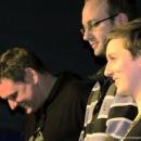 Finalisten beim Poetry Slam Erlangen im November 2013