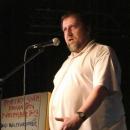 Martin Schodlock beim Poetry Slam Erlangen im November 2013