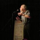 Peter Baehr beim Poetry Slam Erlangen im November 2013