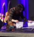 Kata Pongrac beim Poetry Slam im November 2014