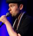 Philipp Multhaupt beim Poetry Slam im November 2014