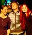 Die glücklichen Finalisten beim Poetry Slam Erlangen im November 2015