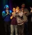 Der Gewinner Yannick aus Graz beim Poetry Slam Erlangen im November 2015