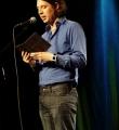 Hans Duschl beim Poetry Slam Erlangen im November 2015