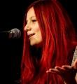 Lara Ermer beim Poetry Slam Erlangen im November 2015