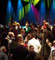 Aufbruchstimmung beim Publikum beim Poetry Slam Erlangen im November 2015