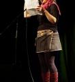 Sylvie Le Bonheur beim Poetry Slam Erlangen im November 2015