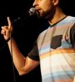 Thomas Jurisch beim Poetry Slam Erlangen im November 2015