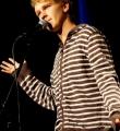 Yannick Steinkellner beim Poetry Slam Erlangen im November 2015