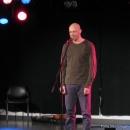 Schriftstehler beim Poetry Slam Erlangen Oktober 2010