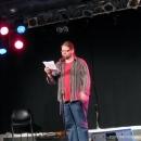 Martin Geier beim Poetry Slam Erlangen Oktober 2010