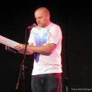 Paul Weigl beim Poetry Slam Erlangen Oktober 2010