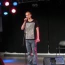 Alex Burkhardt beim Poetry Slam Erlangen Oktober 2010