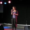 Sünnje Crone beim Poetry Slam Erlangen Oktober 2010