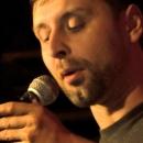 Finalist Thomas Jurisch beim Poetry Slam Erlangen im Oktober 2013