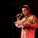 Hardy Holz beim Poetry Slam Erlangen im Oktober 2013
