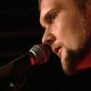 Martin Hönl beim Poetry Slam Erlangen im Oktober 2013