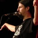 Micha-El Goehre beim Poetry Slam Erlangen im Oktober 2013