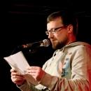 Miro Bebic beim Poetry Slam Erlangen im Oktober 2013