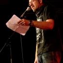 Sven Kemmler beim Poetry Slam Erlangen im Oktober 2013