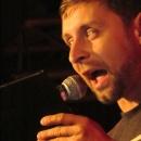 Thomas Juris beim Poetry Slam Erlangen im Oktober 2013