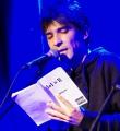 Andi Valent beim Poetry Slam im Oktober 2014