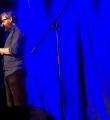 Bybercap beim Poetry Slam im Oktober 2014