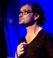 Jürgen Kressel beim Poetry Slam im Oktober 2014