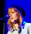 Rebecca Welzel beim Poetry Slam im Oktober 2014