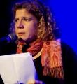 Sylvie Le Bonheur beim Poetry Slam im Oktober 2014