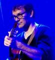 Tim von Byebye beim Poetry Slam im Oktober 2014