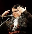 Annika Hengst beim Poetry Slam Erlangen im Oktober 2015