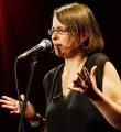 Frederike Jakob beim Poetry Slam Erlangen im Oktober 2015