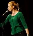 Marie-Theres Schwinn beim Poetry Slam Erlangen im Oktober 2015