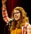 Maron Fuchs beim Poetry Slam Erlangen im Oktober 2015