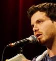Nils Frenzel beim Poetry Slam Erlangen im Oktober 2015