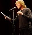 Wehwalt Koslovsky beim Poetry Slam Erlangen im Oktober 2015