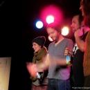 Finalisten beim Poetry Slam Erlangen September 2013