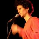 Moderator Lucas Fassnacht beim Poetry Slam Erlangen September 2013