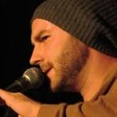 Marvin Suckut beim Poetry Slam Erlangen September 2013