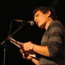 Max Schulle beim Poetry Slam Erlangen September 2013