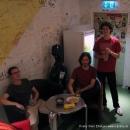 """Mal ein Bild aus dem exklusiven Backstagebereich beim Poetry Slam Erlangen """"Sommer Spezial"""" August 2010"""