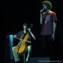 "Cello & Text beim Poetry Slam Erlangen ""Sommer Spezial"" August 2010"