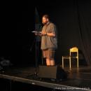 """Martin Geier beim Poetry Slam Erlangen """"Sommer Spezial"""" August 2010"""