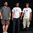 """Martin Geier, Axel Horndasch und Turnkey Facility  beim Poetry Slam Erlangen """"Sommer Spezial"""" August 2010"""