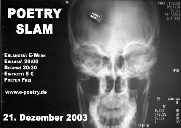 Plakat Dezember 2003