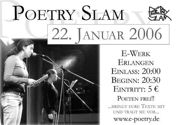 Poetry Slam Erlangen